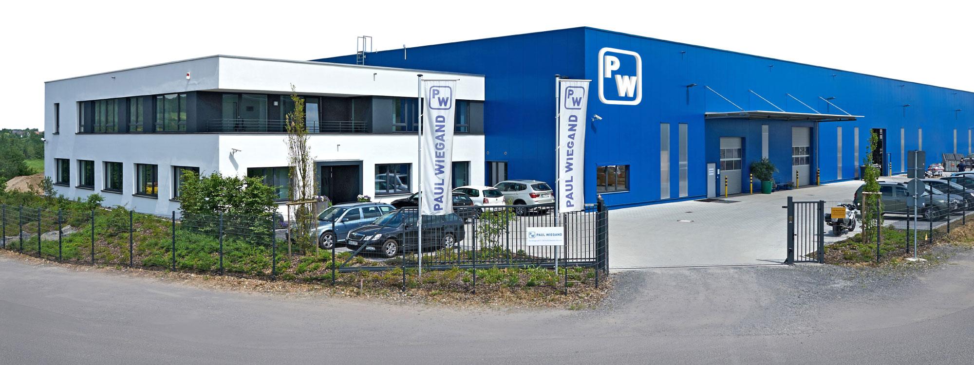 Paul Wiegand Gebäude Firma